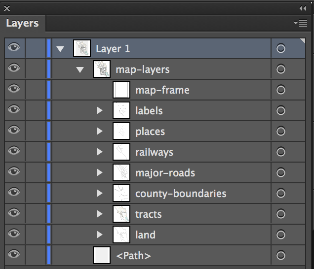 screenshot of layers panel